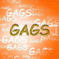 Gags Words Means Ha Jokes And Laughter