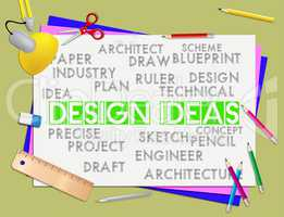 Design Ideas Represents Invention Visualization And Reflection