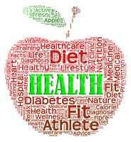 Health Apple Shows Preventive Medicine And Apples