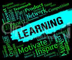 Learning Words Means Schooling School And Learned