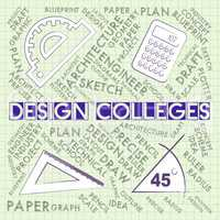 Design Colleges Indicates Development Idea And Designer