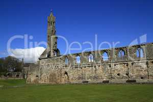 Ruin of St Andrews Cathedral, Scotland