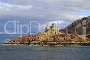 Castle Moil Castle, western Highlands of Scotland