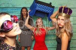 Zickenkrieg vor Fotobox - Party mit Photobooth