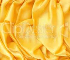 Golden satin background texture