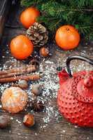 Festive Christmas composition