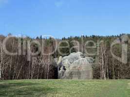 Natural monument -  Elephant Rocks