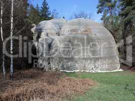 Natural landmark - White Elephant Rocks