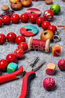 manufacture of beads
