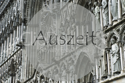 Church Of Trondheim, Auszeit Means Relax