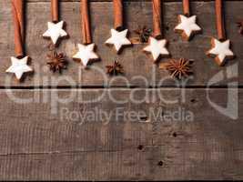 Sweet cinnamon stars