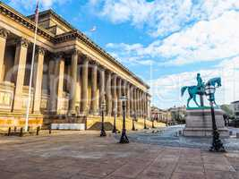 St George Hall in Liverpool HDR
