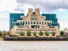 British Secret Service buidling HDR