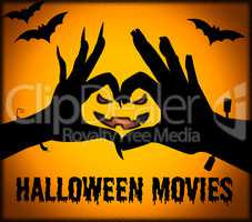 Halloween Movies Shows Horror Films And Cinema