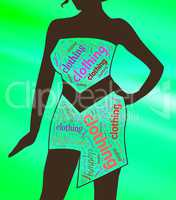 Womens Clothing Shows Gown Garment And Fashion