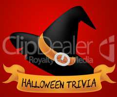 Halloween Trivia Indicates Trick Or Treat Horror