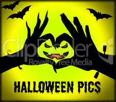 Halloween Pics Shows Spooky Pictures Or Images