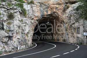 Tunnel auf Mallorca