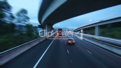 Country Highway in Hong Kong