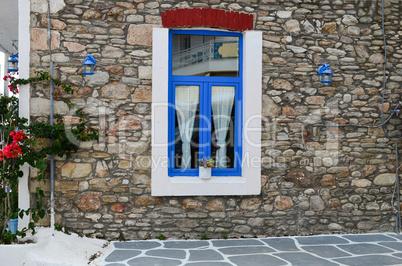 Greek style window