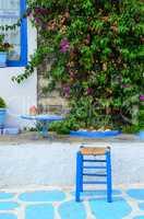 Greek style resting corner