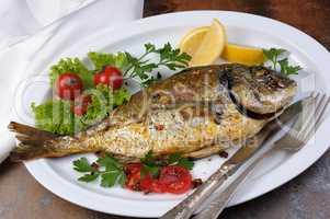 roasted fish  Dorado