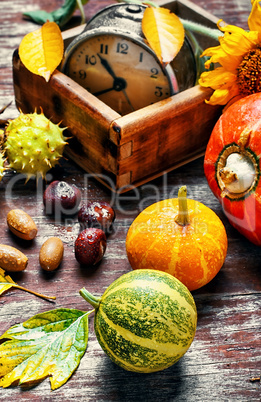 Season of autumn harvest