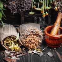 Crop medicinal herb