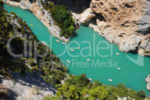 Lac de Ste Croix im Gorges du Verdon