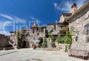 Capalbio in the tuscany