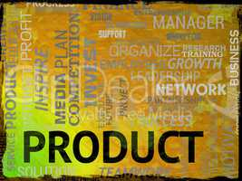 Product Words Means Commerce Purchase And Stocks