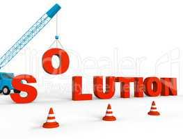 Solution Crane Represent Solving Successful 3d Rendering