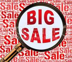 Big Sale Shows Massive Discounts 3d Rendering