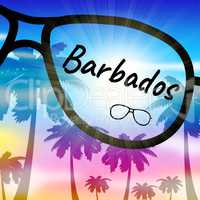 Barbados Vacation Indicates Caribbean Holiday And Leave