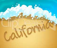 California Holiday Means Beach Getaway In America