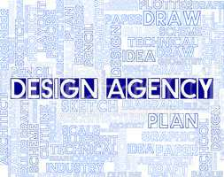 Design Agency Means Artwork And Creative Agents