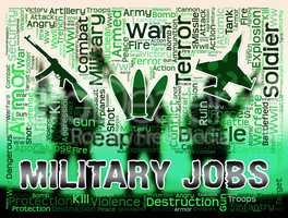 Military Jobs Shows Army Hiring And Employment