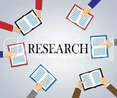Research Books Means Study Examine And Explore