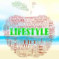 Lifestyle Apple Shows Living Wellness And Health