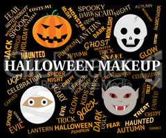 Halloween Makeup Means Spooky And Haunting Cosmetics