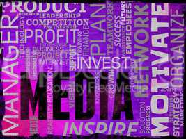 Media Words Shows Tv Radio And Newspapers