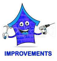 House Improvements Represents Home Or Property Renovation