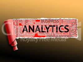 Analytics Word Shows Collecting Data From Web