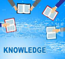 Knowledge Books Show Know How And Wisdom