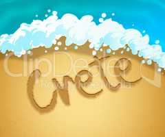Crete Holiday Shows Greek Getaway And Vacation