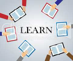 Learn Books Shows Training Education And Study