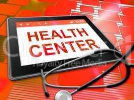 Health Center Represents Preventive Medicine And Shop