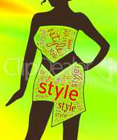 Womens Style Shows Wardrobe Garment And Clothing