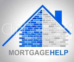 Mortgage Help Means Real Estate And Answer
