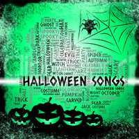 Halloween Songs Shows Trick Or Treat And Acoustic